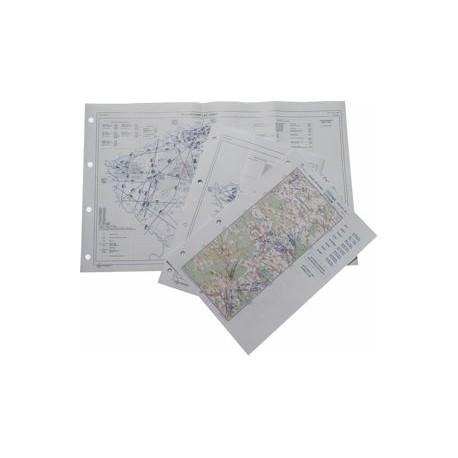 Letecká mapa - barevná, fromát A3