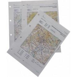 Letecká mapa - barevná, fromát A4
