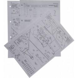 Letecká mapa - černobílá, fromát A4