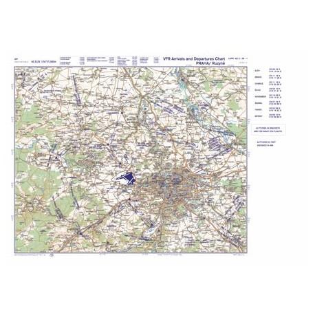 Letecká mapa - formát A1