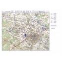 Letecká mapa - formát A2
