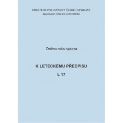 Předpis L 17, zm. č. 13