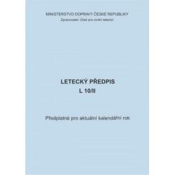 Předplatné 2016 - předpis L 10/II