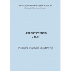Předplatné 2016 - předpis L 10/III