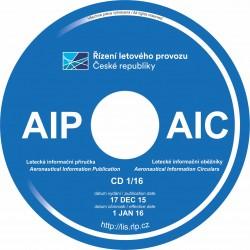 Čtvrtletní předplatné AIP a AIC na CD