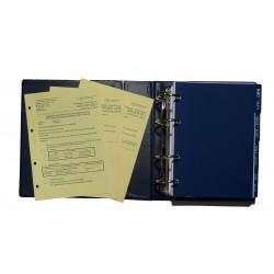 Základní listy VFR příručka v anglickém jazyce s deskami a registry