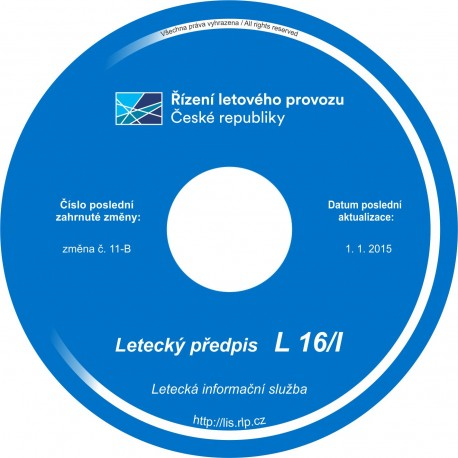 Předpis L 16/I - CD
