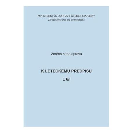 Předpis L 6/I, zm. č. 38