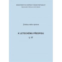 Předpis L 17, zm. č. 1/ČR