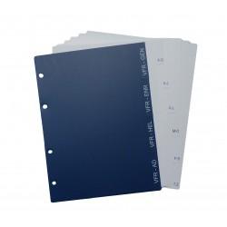 Třídicí registry - VFR příručka