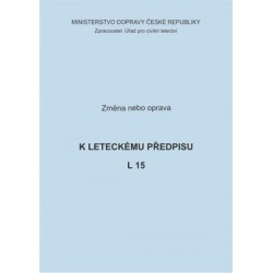 Předpis L 15, zm. č. 40
