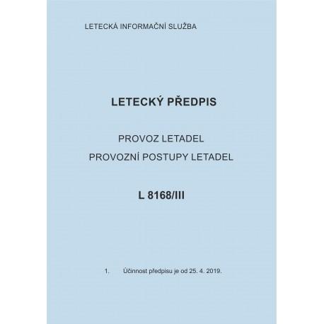 Předpis L 8168/III