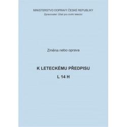 Předpis L 14 H, zm. č. 2/ČR
