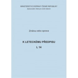 Předpis L 14, zm. č. 16