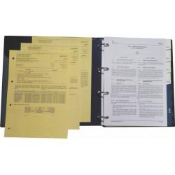 Základní listy AIP I. a II. svazek s deskami a registry