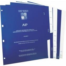 Sada plastikových třídicích registrů - AIP I. a II. svazek