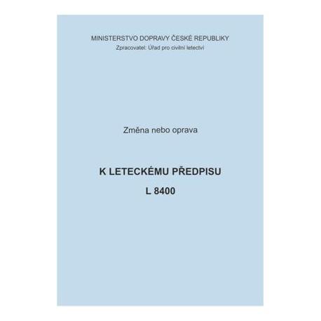 Předpis L 8400, zm. č. 29