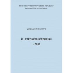 Předpis L 7030, zm. č. 5