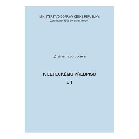 Předpis L 1, opr. č. 1/ČR