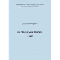 Předpis L 8400, zm. č. 31 a opr. č. 1/ČR
