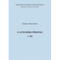 Předpis L 10/I, zm. č. 1/ČR