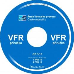 Čtvrtletní předplatné VFR přiručka ČR na CD