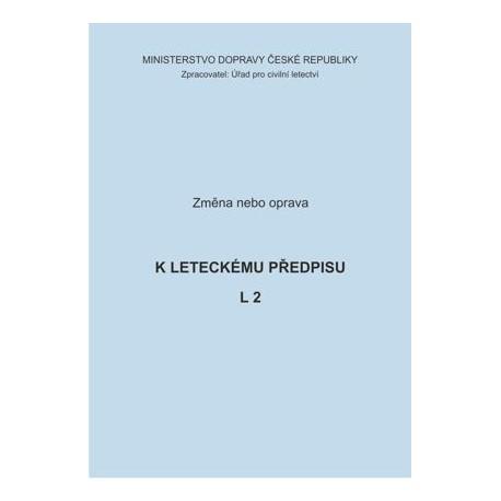 Předpis L 2, zm. č. 3/ČR