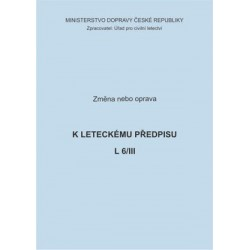 Předpis L 6/III, zm. č. 21a 13/ČR
