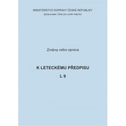 Předpis L 9, zm. č. 26