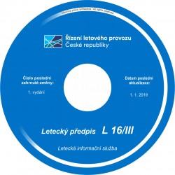 Předpis L 16/III - CD